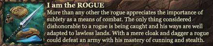 I am the ROGUE!